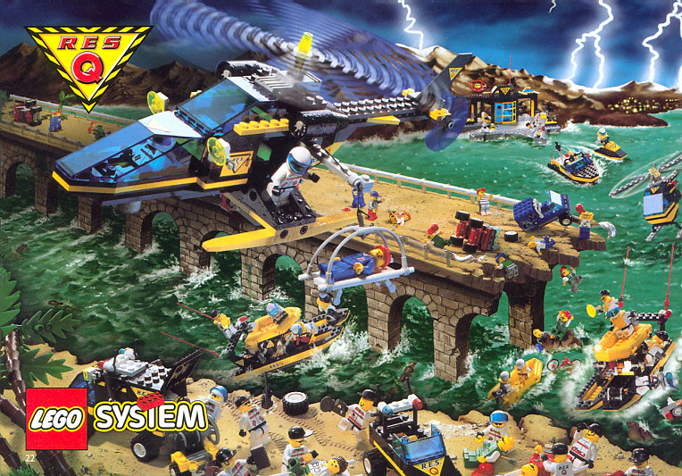 1998 LEGO Catalog 4112635/4112636-NA Pages 22-23