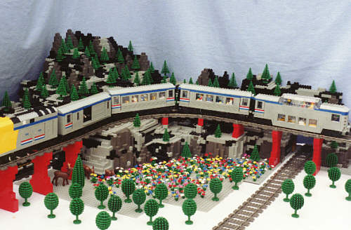 Gail Meagher S Original Lego Creations