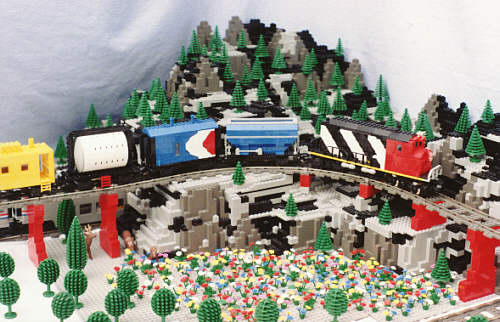 Train For Under Christmas Tree